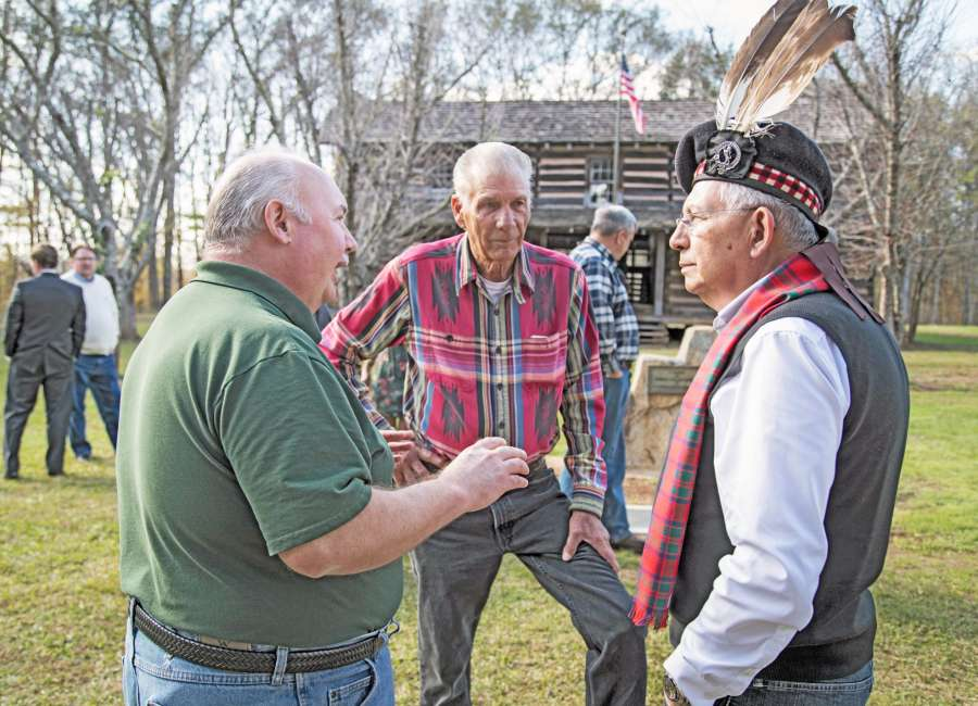 McIntosh descendant visits as stone moves back to Whitesburg