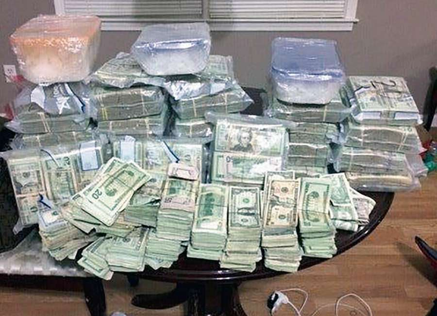 Nearly $750,000 in cash seized in meth bust