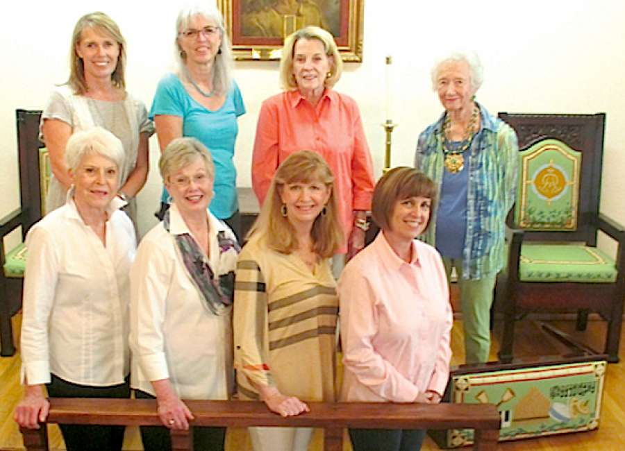 Needlework adds beauty to First Methodist chapel