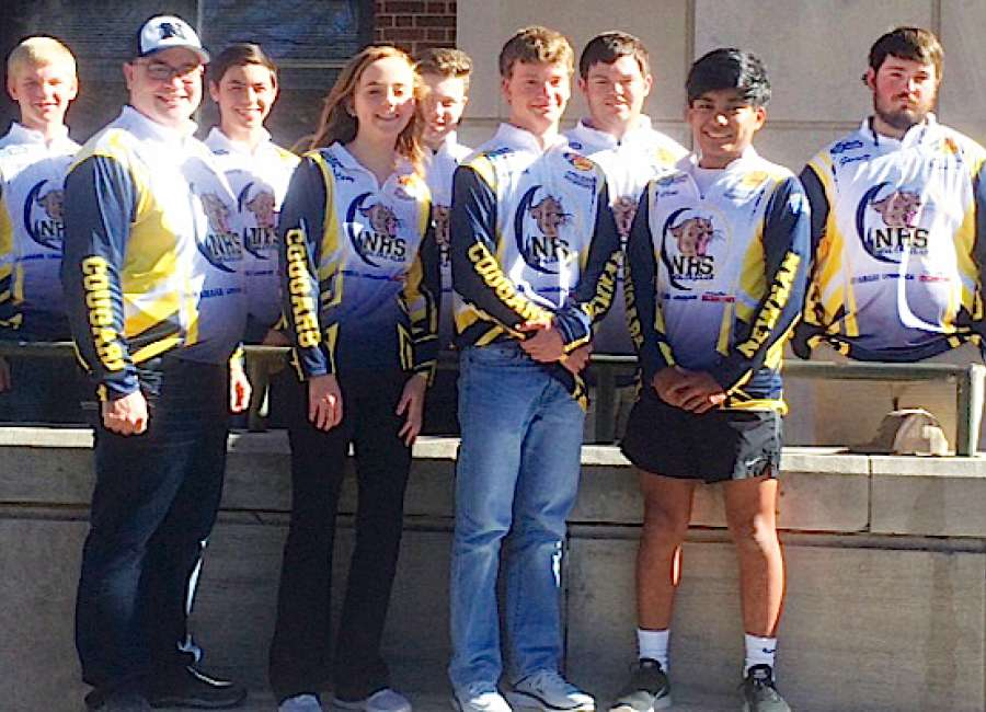 Newnan high school fishing club out to promote sport the for High school fishing