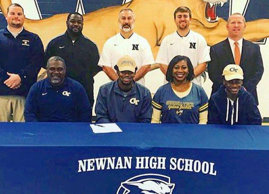 Newnan's Peje Harris signs with Yellow Jackets