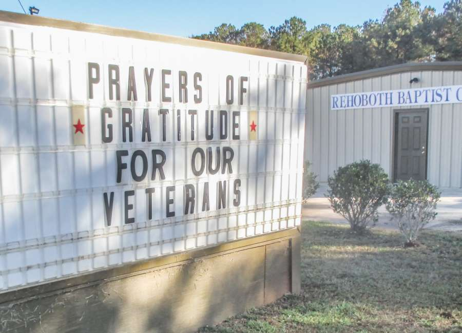 November a time for churches to honor veterans