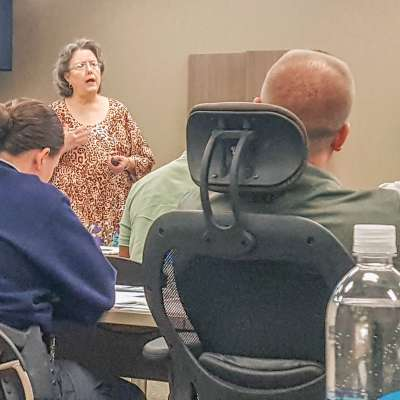 NPD hosts crisis training