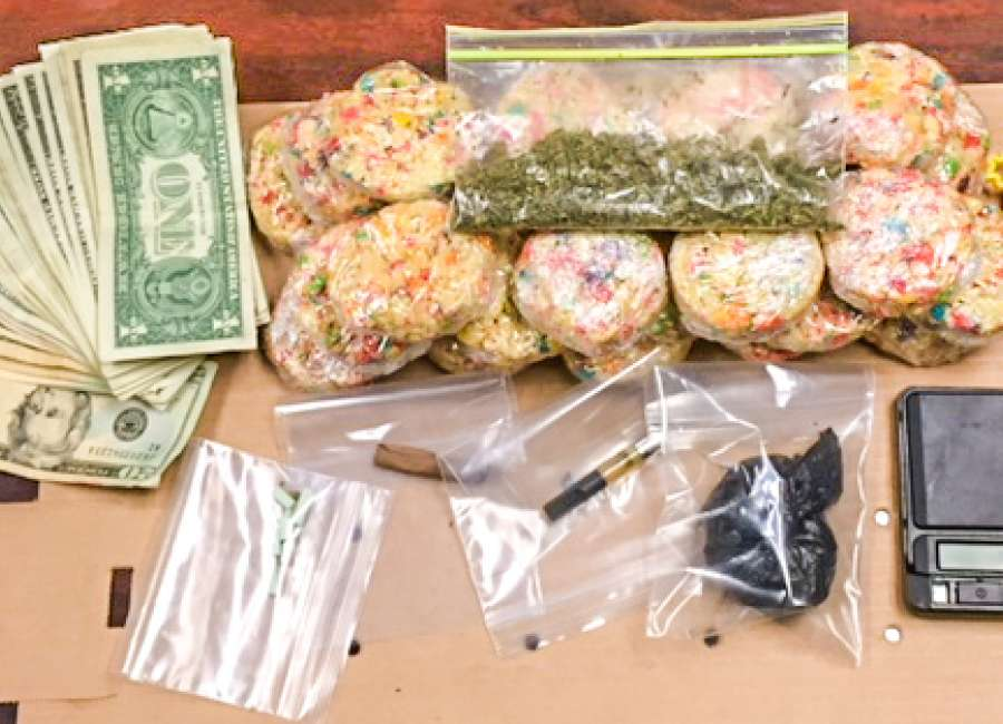 Oh snap! Teen popped for pot-laced treats