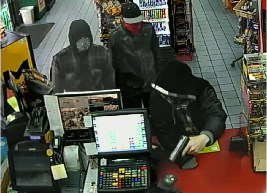 Police searching for suspects in armed robbery