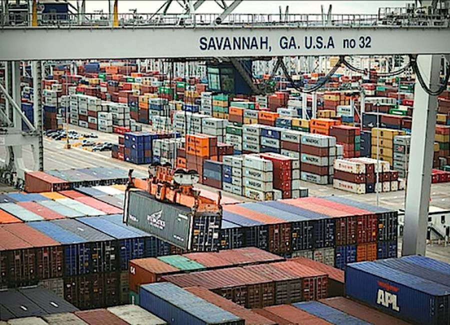 Ports project progresses; import-exports at record high