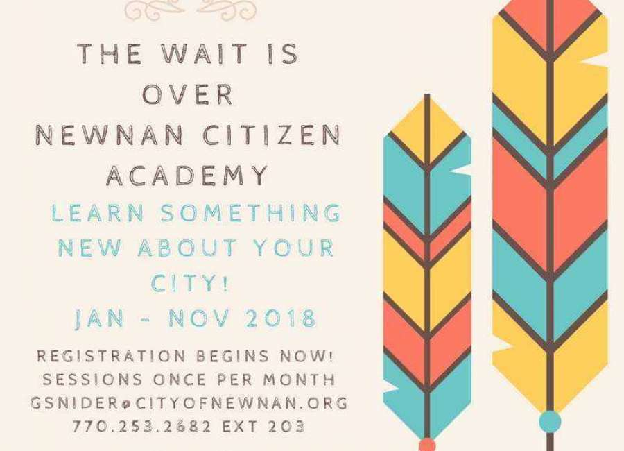 Registration open for Newnan Citizen Academy