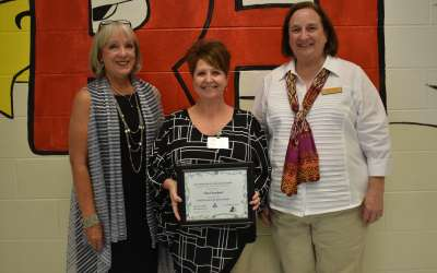 Ruth Hill instructional coach receives Excellence in Education Award