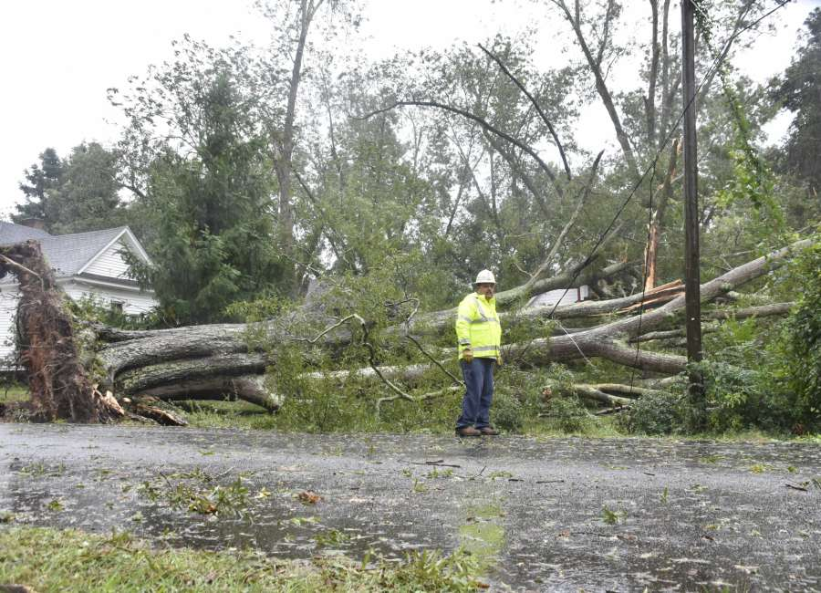 School System Assessing Storm Damage