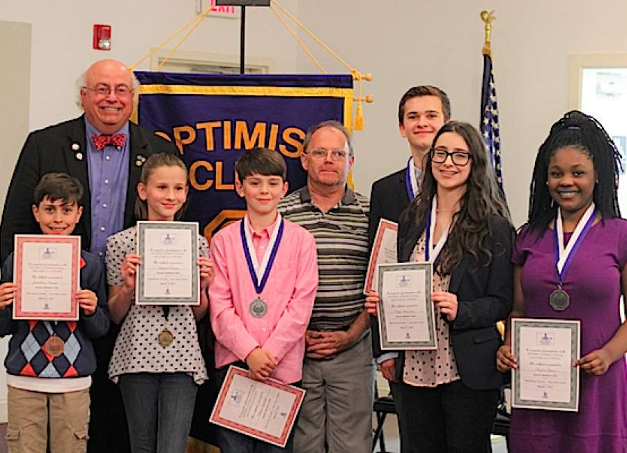 Senoia Optimist Club holds oratorical contest