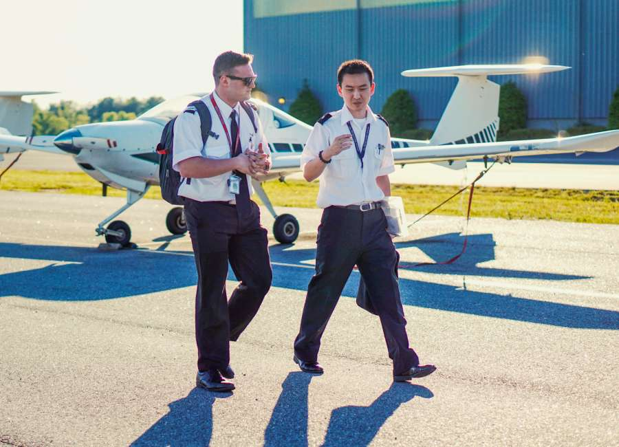 Sky remains the limit for flight school