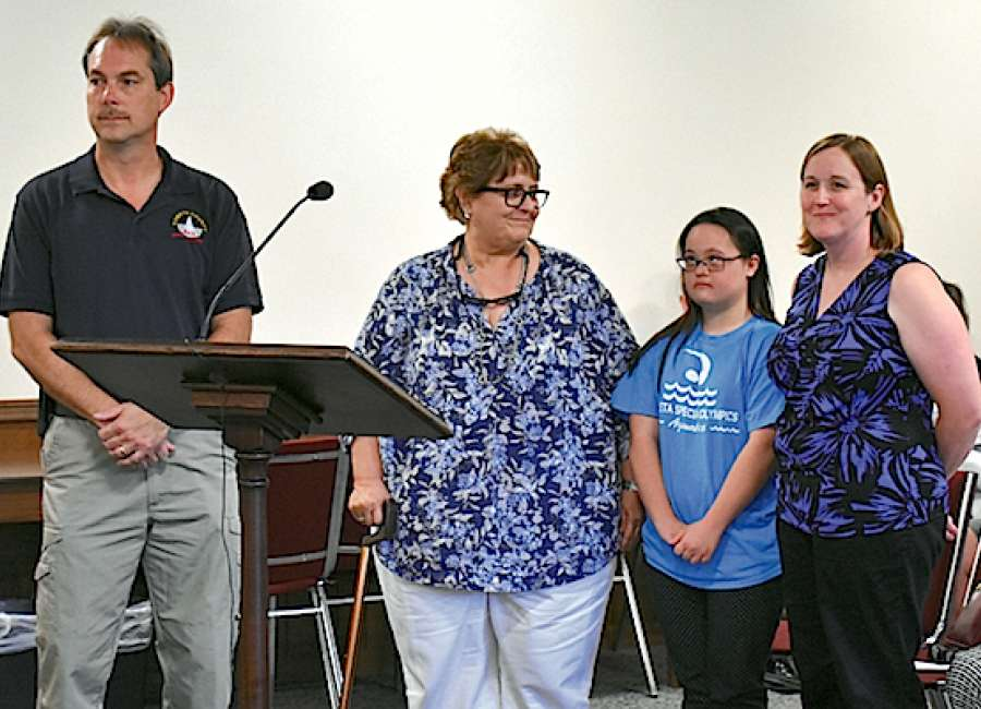 State Special Olympics honorees recognized