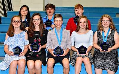 Students honored at Lee Middle School Honors Day