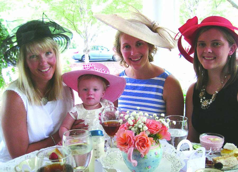 Tea, linen, china to add elegance to Senoia event