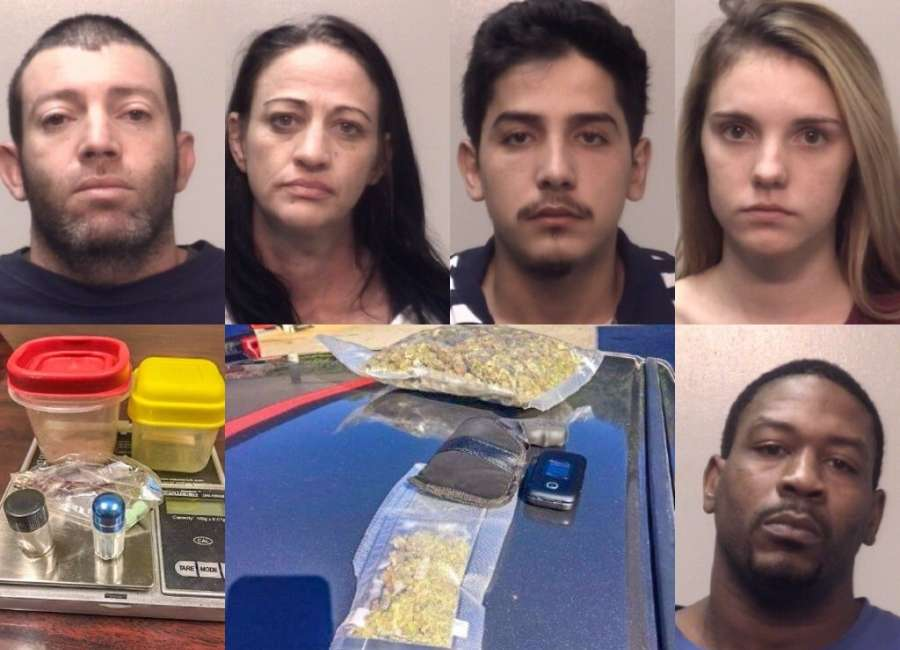 Traffic stop leads to alleged drug house raid