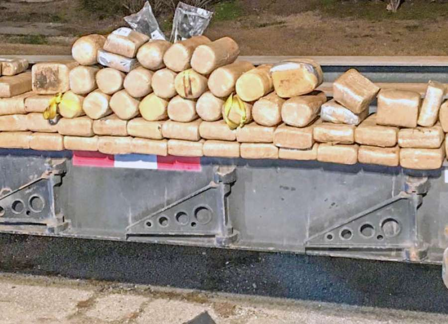 Traffic stop nets 70 kilos of cocaine