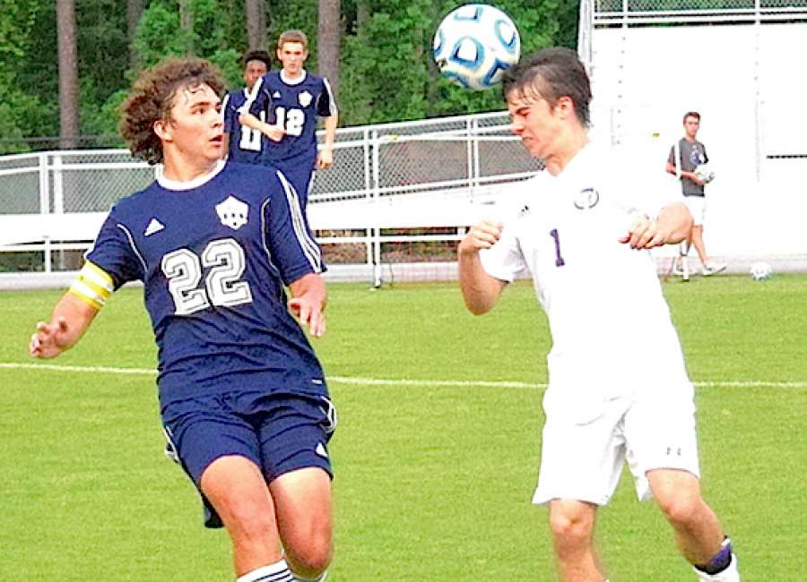 Trinity Christian boys roll to 5-1 win