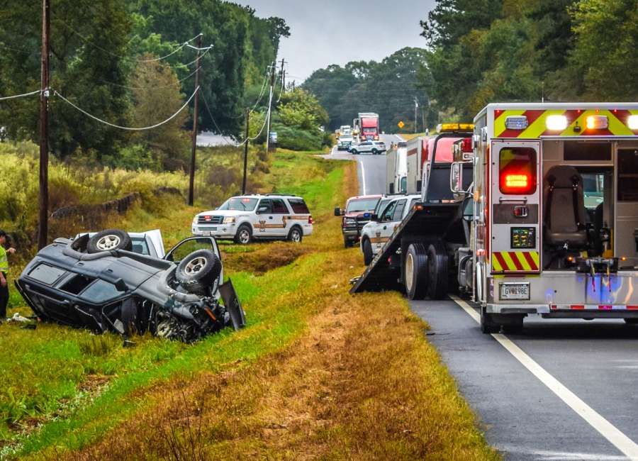 Crash victim remains hospitalized after head-on collision
