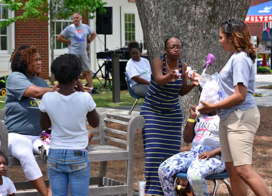 UWG-Newnan's Family Fun Day signals community ties