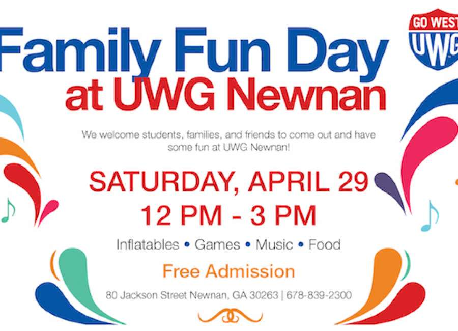 UWG-Newnan's Family Fun Day is Saturday