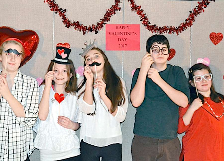 Valentine's – day of love – celebrated at churches