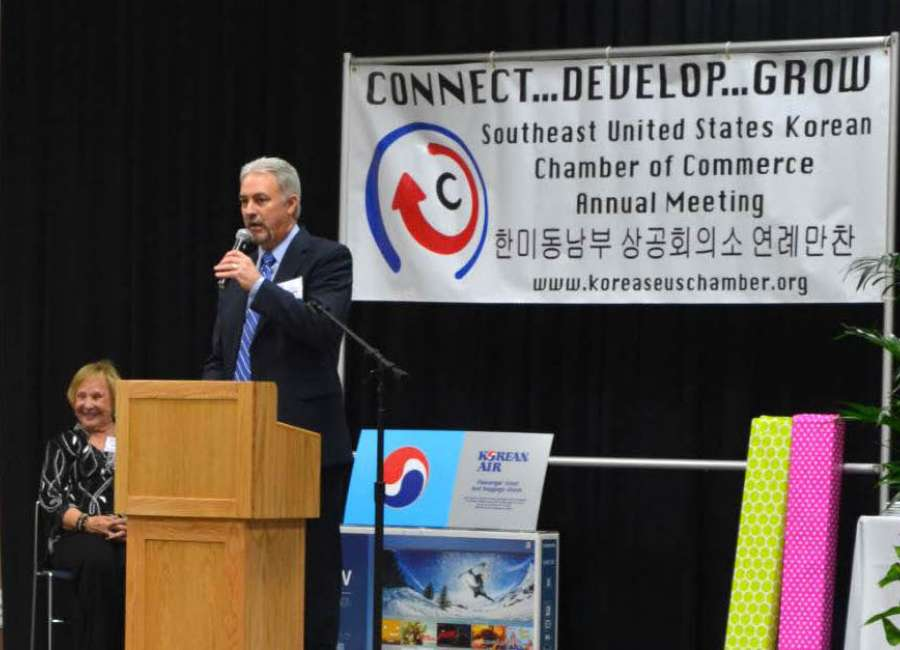 WGTC hosts Korean Chamber Annual Dinner