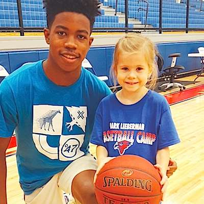 Young hoopster impresses at camp