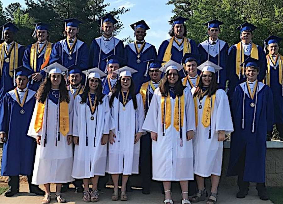 20 graduate from Central Christian School
