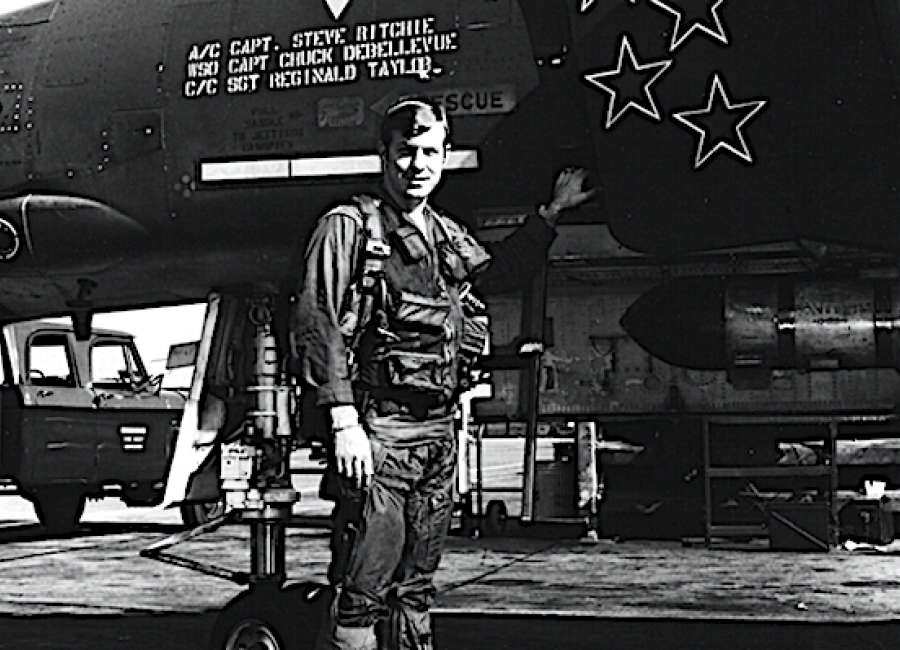 Air Force ace pilot to speak at NHS Monday