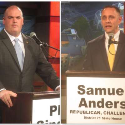Anders, Singleton speak solo at forum