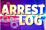 Arrest Log: Jan. 10 – 13