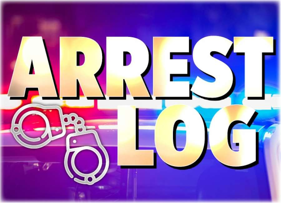 Arrest Log Jan. 3-9