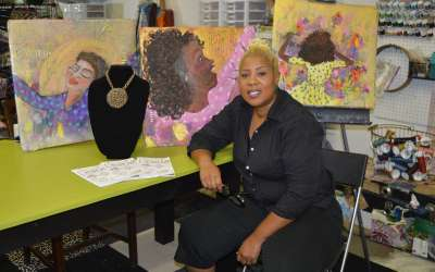 Art as therapy: Tracey Brooks becomes coach