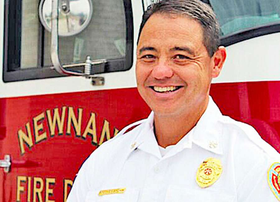 Brown named chief at Newnan Fire Department