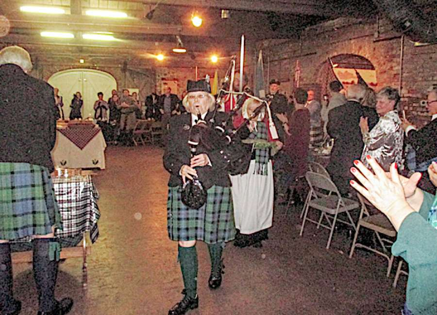 Burns Supper celebrates Scottish heritage, ties