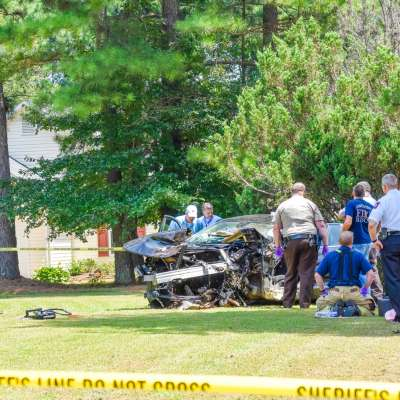 CCSO: Man commits suicide after crashing car