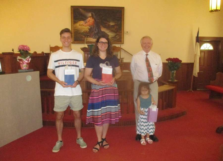 Churches honor students as school year ends