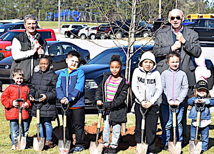 City celebrates Arbor Day by planting trees at schools