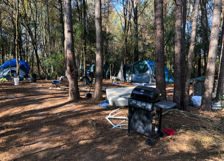 County cleaning out homeless camps