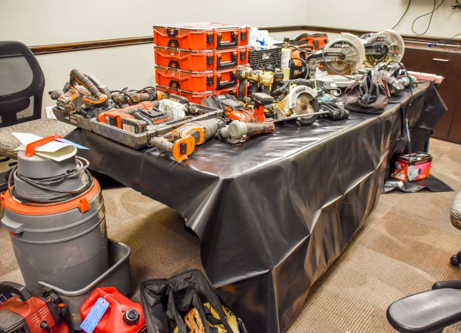 Coweta investigators recover stolen power tools
