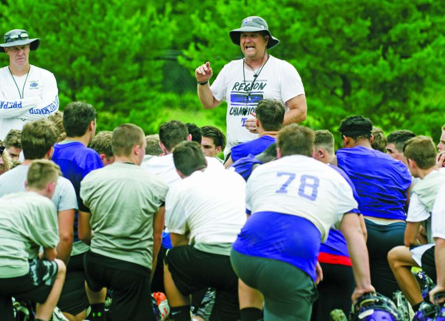 Dallas happy with Trinity's summer workouts