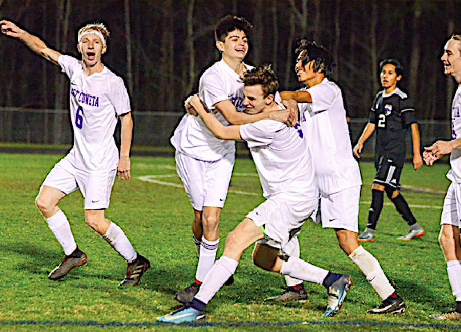 East Coweta soccer lineups double up on shutout efforts