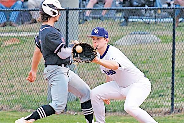 East Coweta uses six-run burst, steady pitching to beat Whitewater