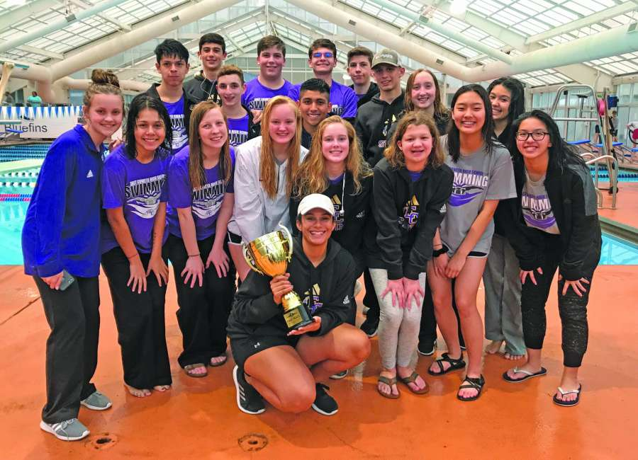 EC swim team off to fast start