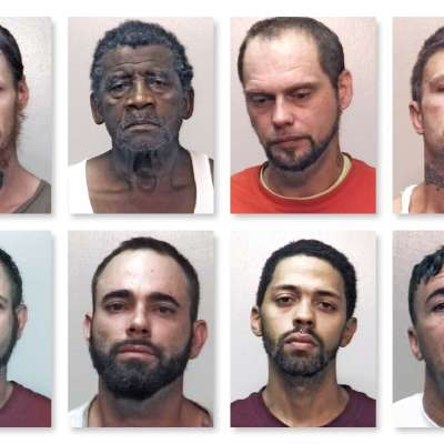 Eight arrested in local sex offender operation