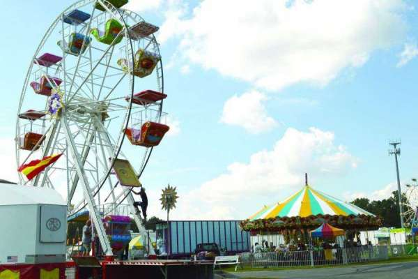 Fair opens tonight for 10-day run