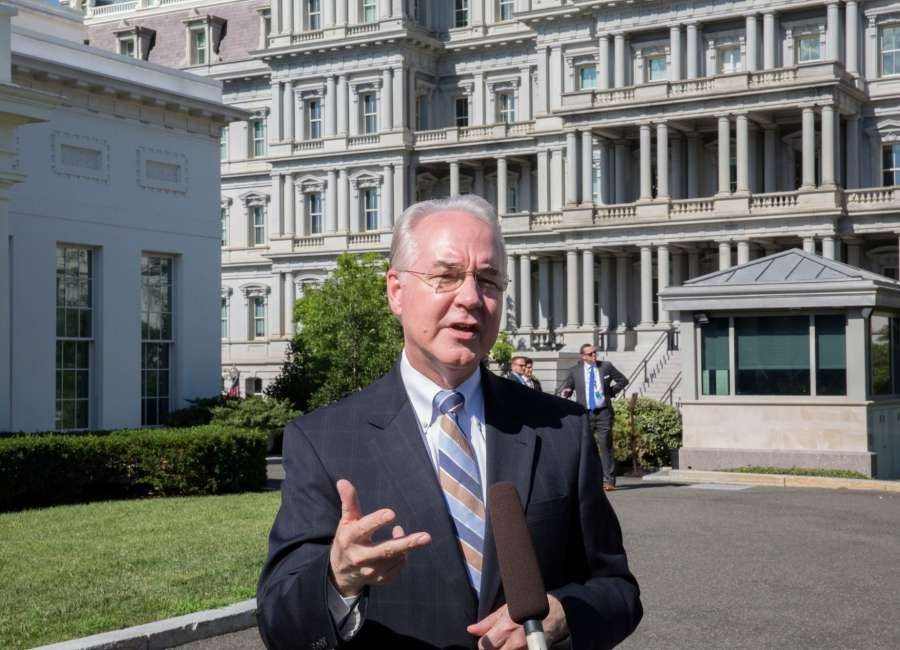 ​  Former HHS Secretary Price to speak at First Baptist