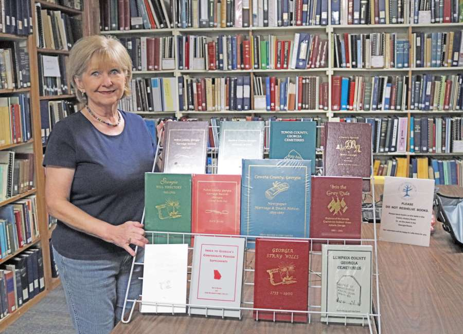 Genealogy Society receives book donation