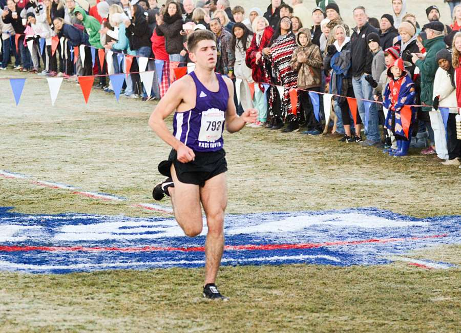 Harkabus runs away with first XC crown