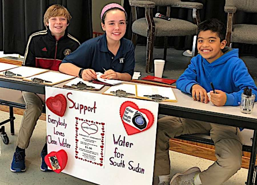 Heritage School students raise money for clean water